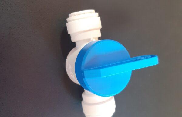 Кран пластиковый цанга/цанга